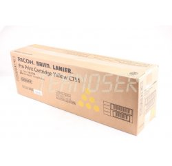Gestetner Pro C651 Yellow Toner Cartridge