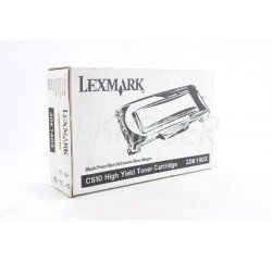 Lexmark C500 Black Toner Cartridge (10000 Page)