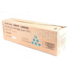Lanier Pro C651 Cyan Toner Cartridge